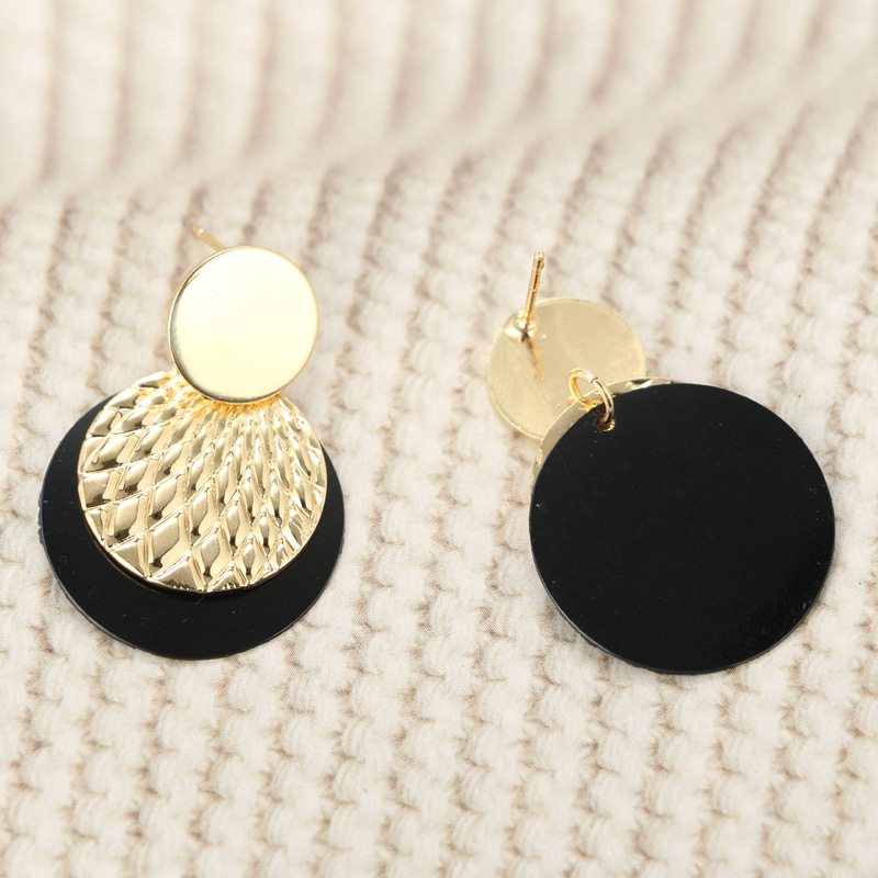 Alloy Fashion Geometric earring(Main color) NHGY1698-Main color