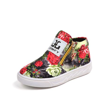 Cung cấp dài hạn các vụ nổ thương mại nước ngoài thời trang cổ điển cho trẻ em Giày nữ Màu xuân và mùa thu Martin bốt phiên bản Hàn Quốc của giày đơn Giày cao cổ