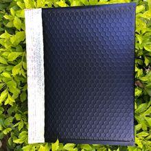 厂家直销哑光蓝色镀铝膜复合气泡袋高档防震防水信封270*170+40mm