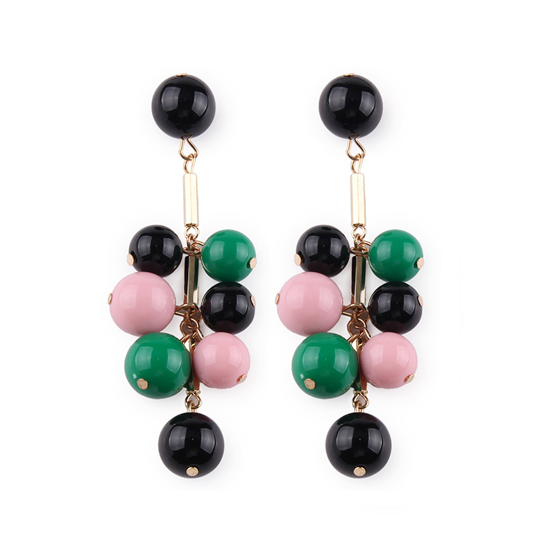 Alloy Fashion Geometric earring  (Color one) NHJQ10398-Color-one