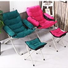 创意阳台懒人椅多功能单人沙发椅宿舍电脑椅家用卧室休闲折叠躺椅