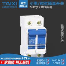 2P小型隔离开关 低压63A/100A/125A开关 电表配电箱 成套 光伏用