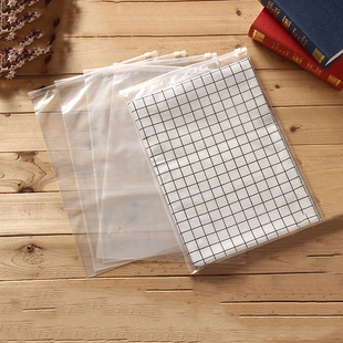 Non-woven clothing packaging bag peva transparent high pressure zipper bag frosted inner clothes pants ziplock bag can be customized