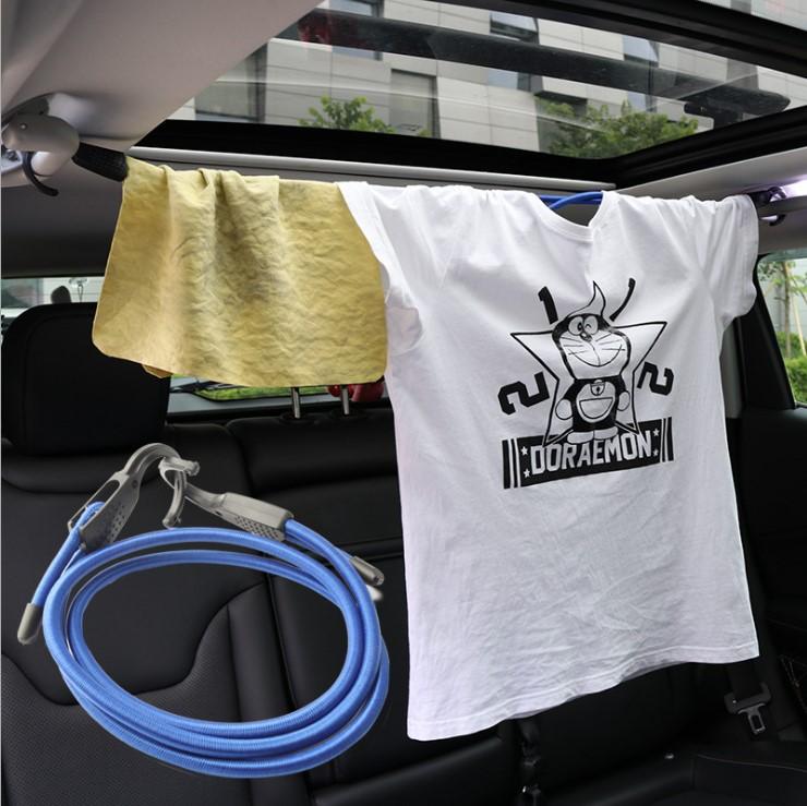 车载行李绳 行李箱固定绳 户外旅行车内挂衣绳 汽车室内晾衣绳
