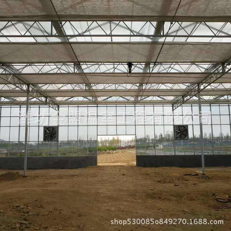 农业智能温室大棚建设厂家 玻璃温室日光大棚阳光板温室大棚