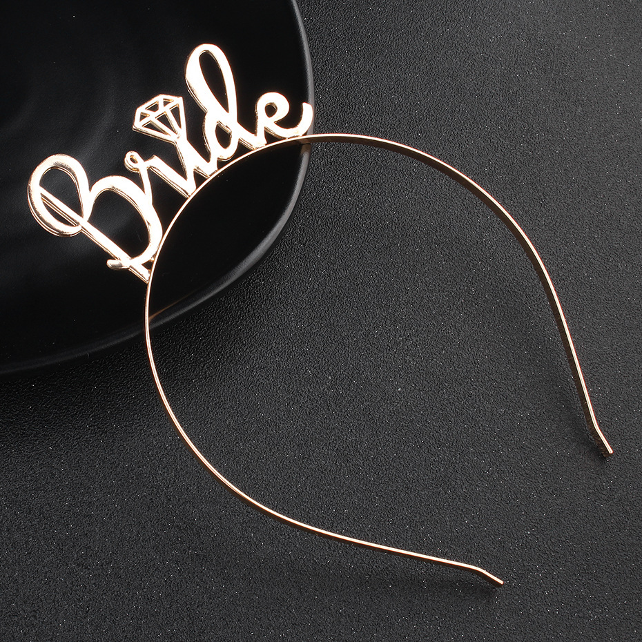 Alloy Fashion Geometric Hair accessories  (Alloy) NHHS0139-Alloy