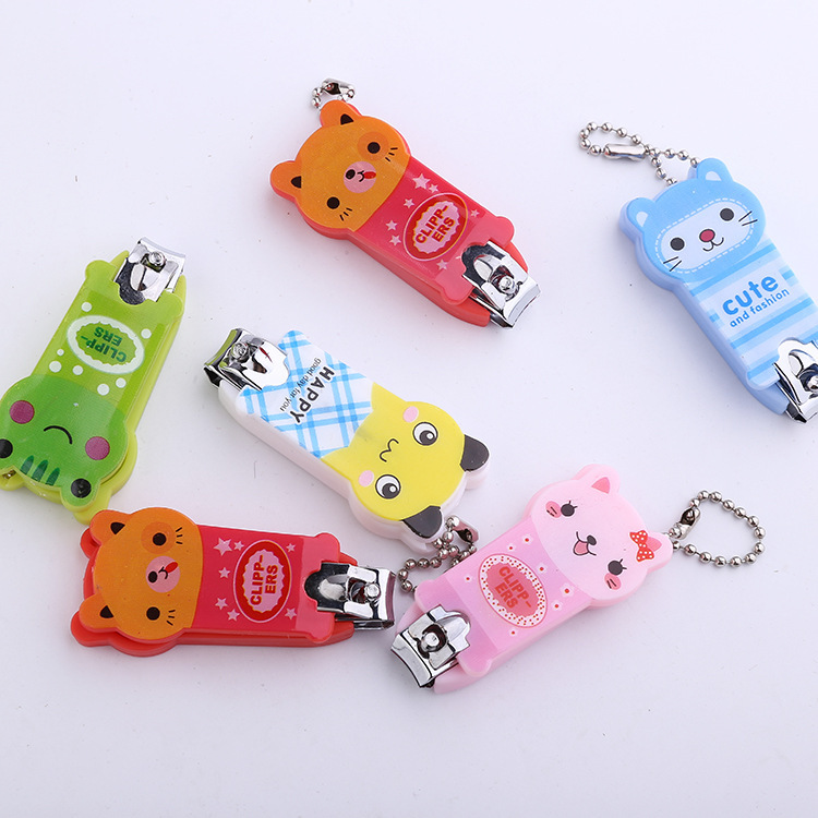 Small Gift Creative Gift Nail Clippers Cartoon Animals Cute Nail Clippers / Nail Clippers Nail Products