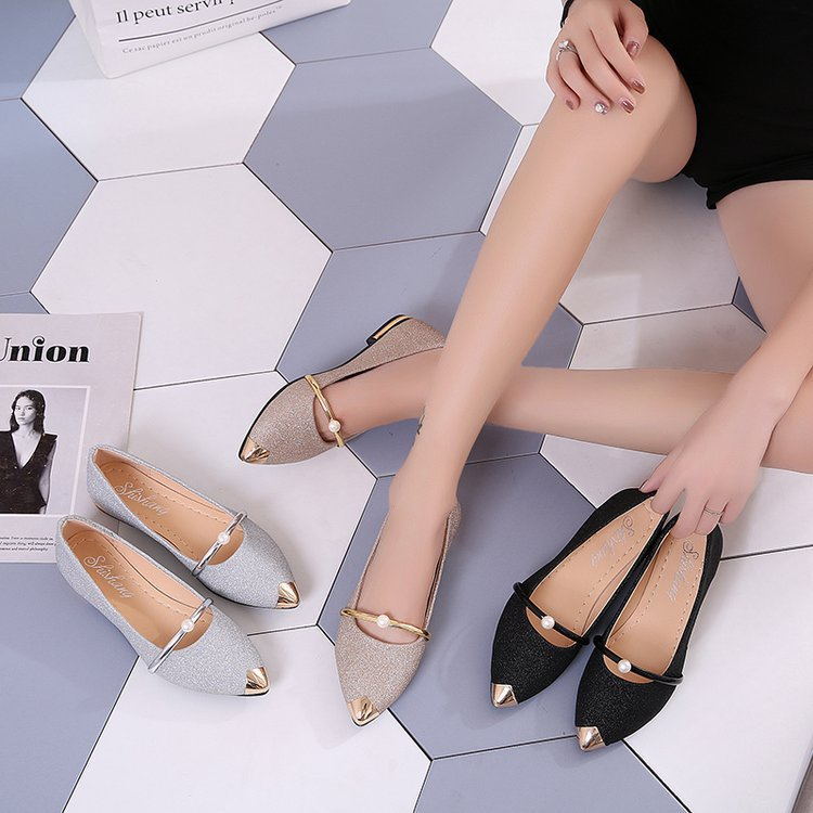 Summer Korean new women's shoes pointed...