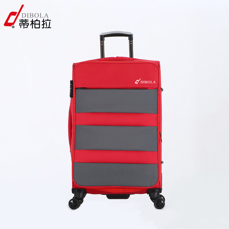 优质男女通用万向轮拉杆箱 时尚简约尼龙密码行李箱 现货批发