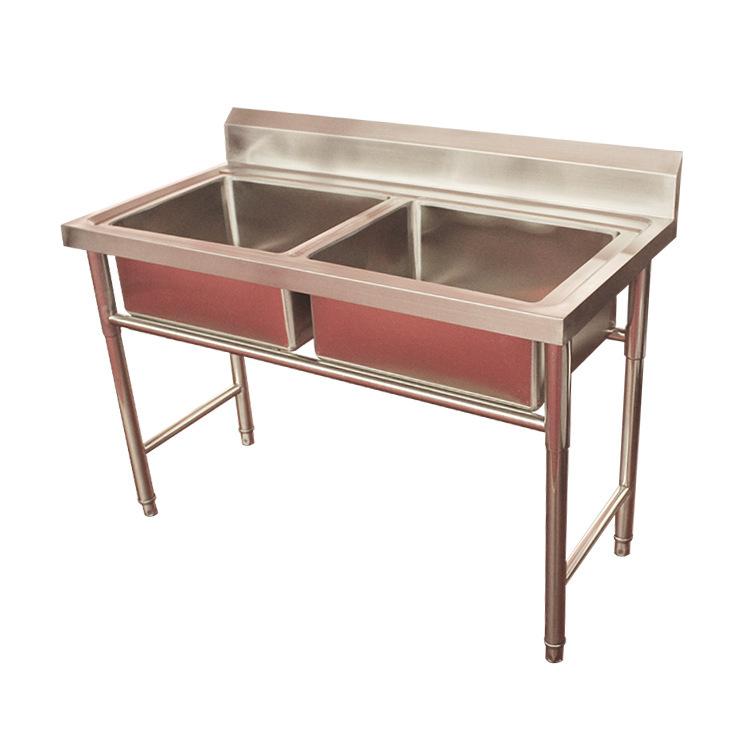 厂家供应双眼不锈钢水池 洗菜洗碗池 不锈钢水池批发