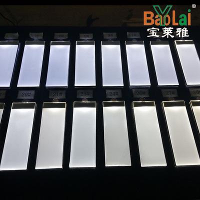 直销LED背光源导光板厂家定制LED反射式背光白光高亮小尺寸七彩侧