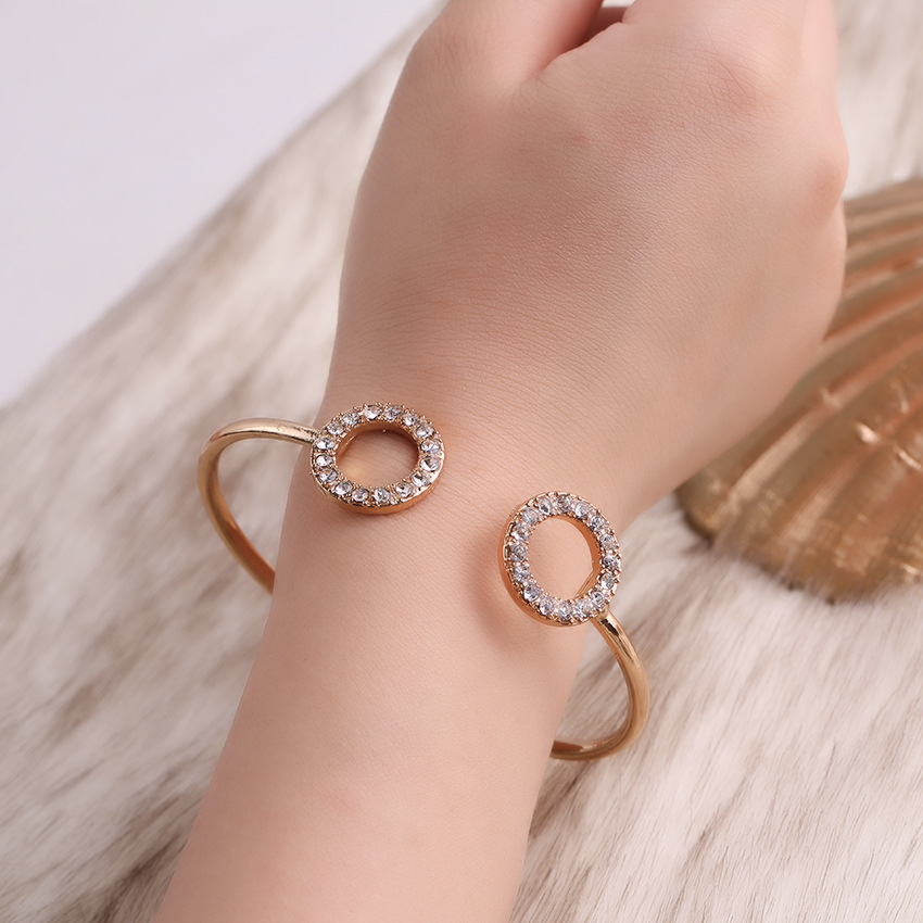 Alloy Fashion Geometric bracelet  (Alloy) NHHN0333-Alloy