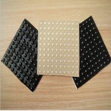 自粘透明圆形胶垫 高透明EPDF胶垫 防滑胶垫无线充电器硅胶垫