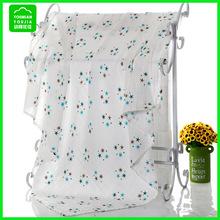 穆斯林双层纱布浴巾婴儿抱被新生儿纯棉包巾儿童空调被宝宝喂奶巾