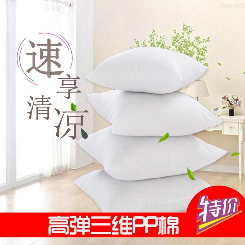 厂家直销 饱满高弹白色无纺布抱枕芯靠枕芯靠垫芯真空压缩抱枕