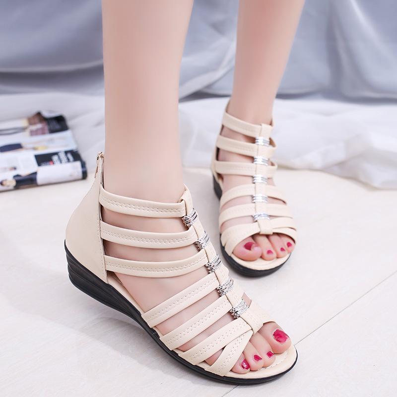 Chaussures été pour femme en Caoutchouc - Ref 3347516 Image 30