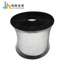 供应四氟割裂丝纤维盘根 耐腐蚀密封填料厂家聚四氟乙烯盘根