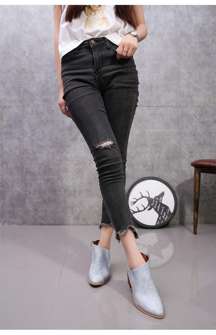 Cloth FashionShoes(Silver-35) NHTJ0048-Silver-35