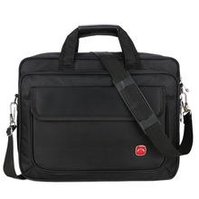 厂家批发订做美杰罗电脑包定制男士单肩手提商务公文包黑包1680
