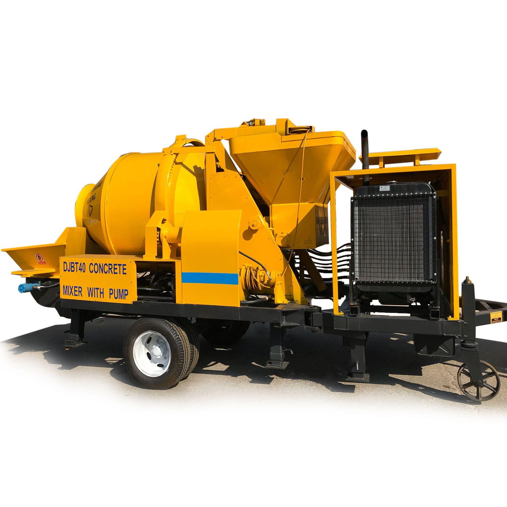 Mixer Pump Jbs30 Mixing Pump 30 Diesel Concrete Mixer With Pump