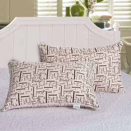 Pillow single pillow student dormitory a lovely cartoon lattice men and women pillowcase plus pillow core single trend