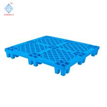 厂家直销网格九脚塑料卡板 全新料防潮防腐蚀网格小四脚塑料卡板