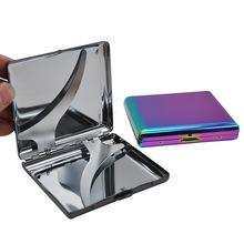 高端创意烟盒 轻薄时尚烟盒超薄个性炫彩创意烟盒20支装金属烟盒