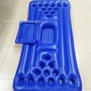 现货PVC充气24洞浮排 啤酒饮料杯托浮排 啤酒乒乓球游戏杯洞浮排