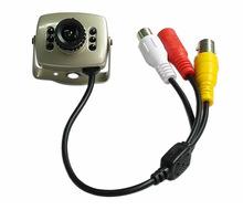 同轴高清有线AHD探头摄像头 家用高清夜视带音频摄像头