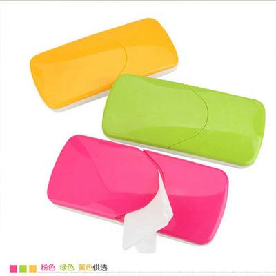 遮阳板式纸巾抽 车载纸巾盒汽车用品三色