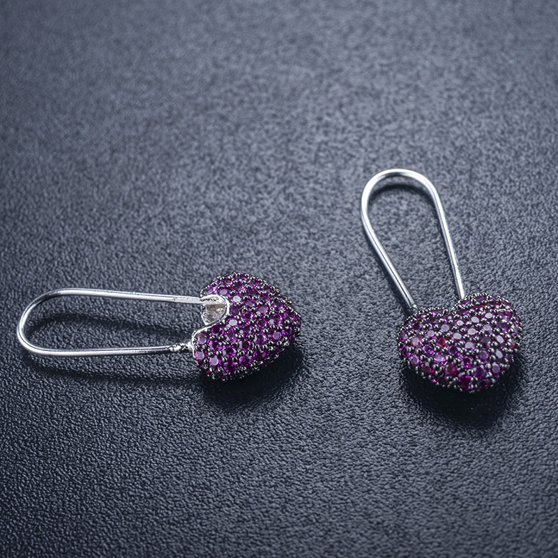 Alloy Korea Geometric earring(Photo Color) NHLJ3883-Photo Color