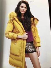 2018年秋冬季女裝新款 鴨寶寶羽絨服中長款外套大衣 專柜正品折扣