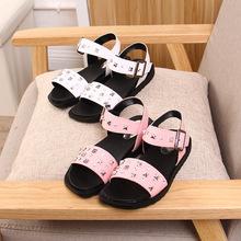 Sandals bé gái, họa tiết ngộ nghĩnh, phong cách Hàn Quốc, mẫu mới