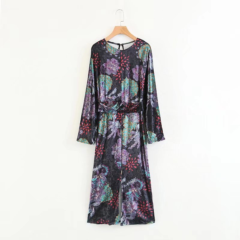 Sexy & Party Polyester  dress  (Picture color -S)  NHAM1502-Picture color -S