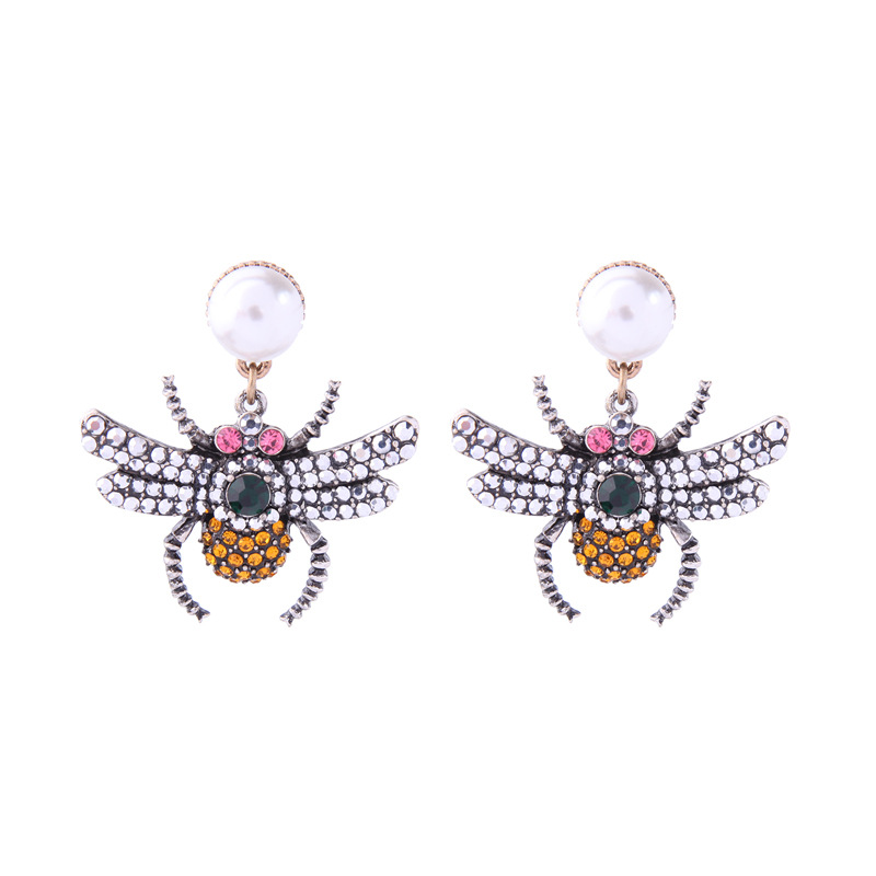 Alloy Fashion Animal earring(Photo Color) NHQD5193-Photo Color