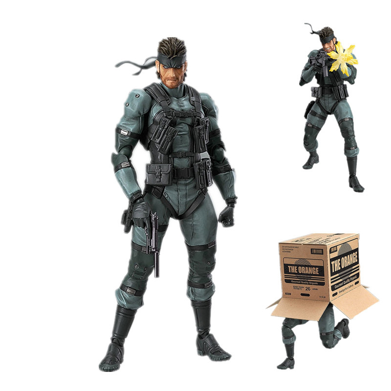 Harle Anime Son of Freedom Snake Uncle Uncle Figma243 # شكل صندوق متحرك