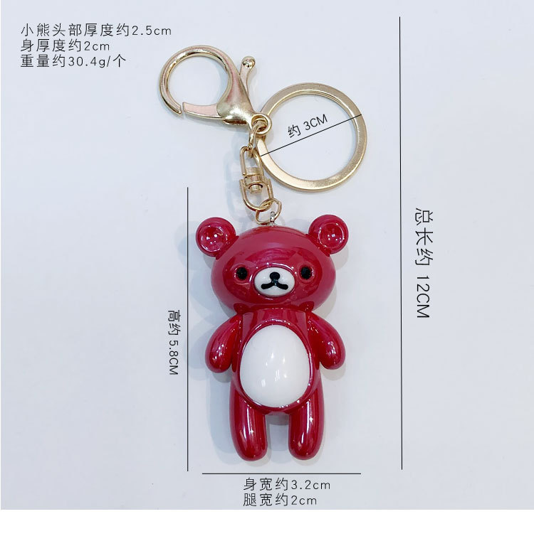 Acrylic Fashion Cartoon key chain  (1) NHBM0499-1