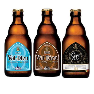比利时原装进口啤酒 瓦图修道院双料啤酒330ml 特酿啤酒