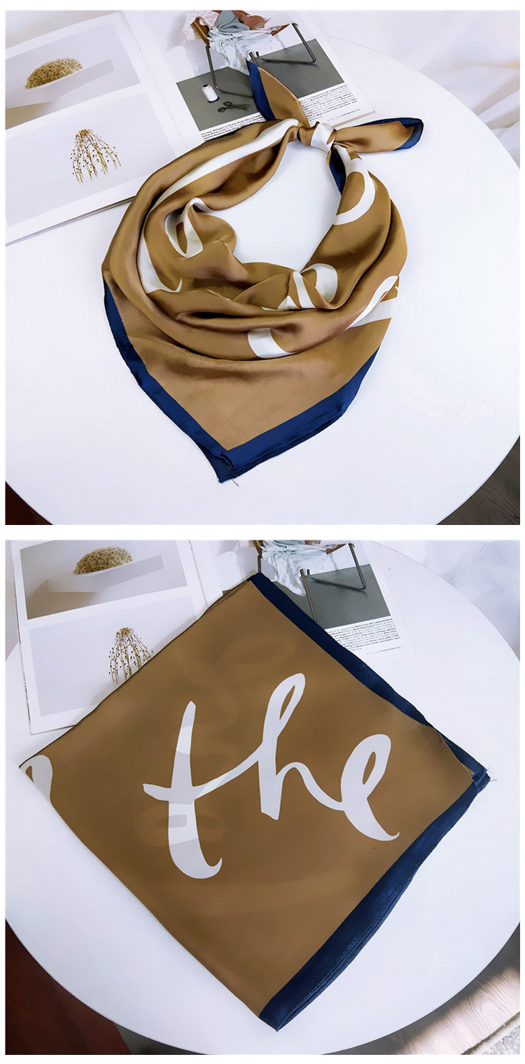 Alloy Korea  scarf  (1LOVE blue-70cm) NHMN0309-1LOVE-blue-70cm
