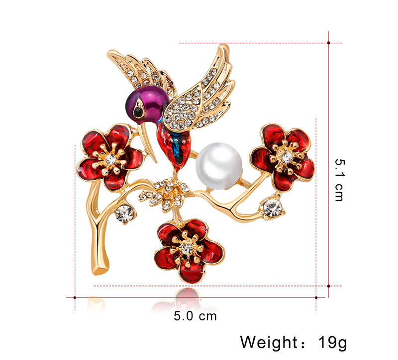Alloy Korea Animal brooch(AG197-A) NHDR2470-AG197-A