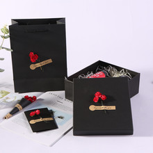 定制可乐礼盒 长方形天地盖通用包装 礼物包装盒 礼品盒速卖通