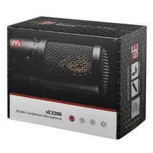 美國sE 2200專業錄音話筒K歌主播直播大振膜電容麥克風誠招代理