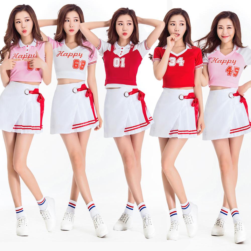 宇宙少女团体啦啦队拉拉操演出服 年会学生运动会拉拉队表演服装