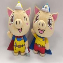 厂家定制2019年新款猪年毛绒玩具  创意卡通情侣猪 公司活动礼品