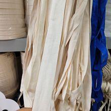 人字平纹扁平黑白单层织带 12345cm厂家批发包边纯棉涤棉绳带