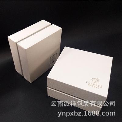 珠宝首饰手镯盒包装 饰品首饰包装盒定制 天地盖胶盒包装定做