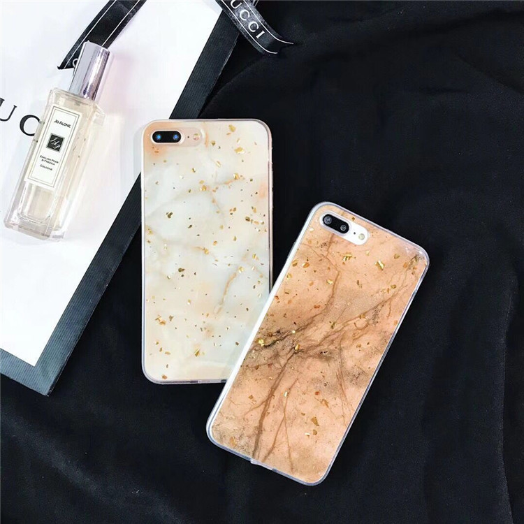 Marble shell R15 dream x21 x20plus anti-fall fashion gold foil protective shell apple X r11sp soft