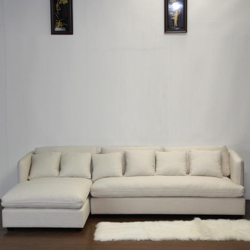 厂家直销 居家简约小户型布艺沙发可拆洗 舒适休闲客厅沙发组合