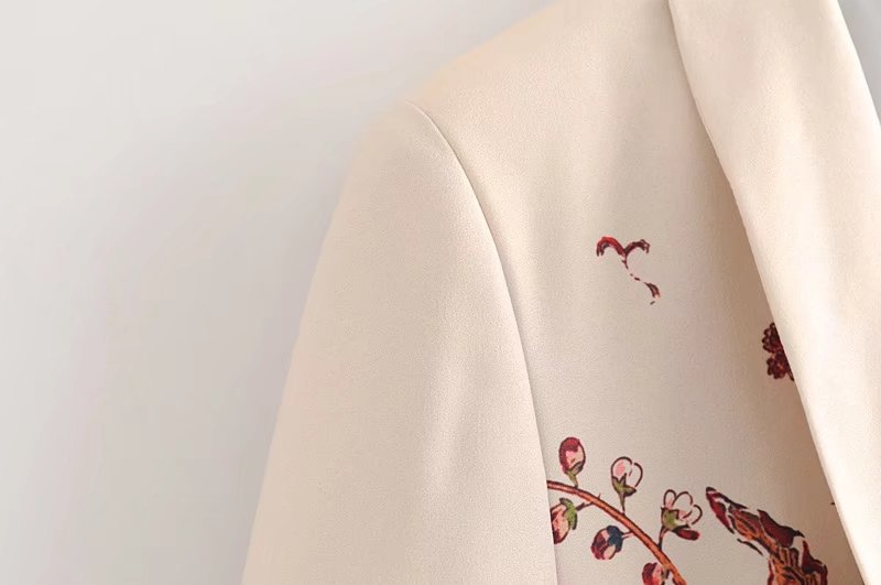 Polyester Fashion  coat  (Picture color -S) NHAM4007-Picture color -S