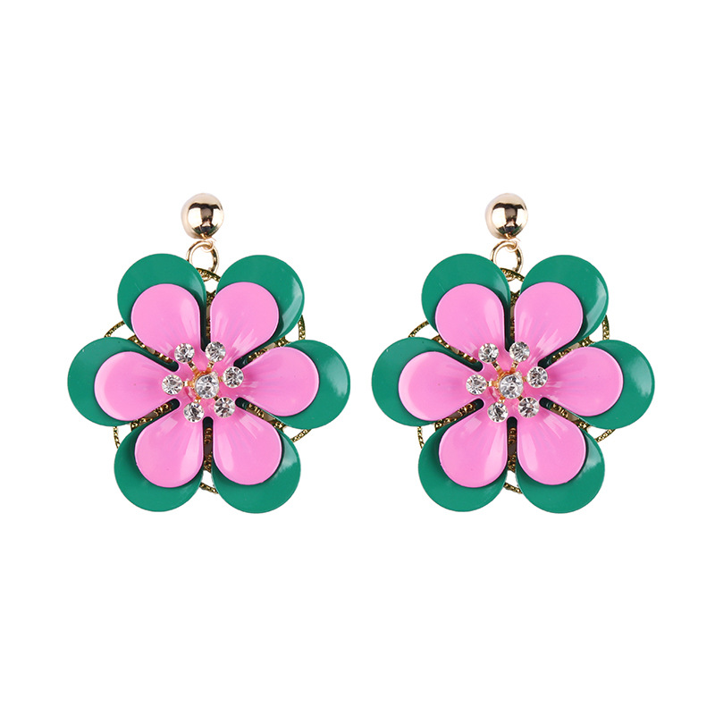 Alloy Korea Geometric earring  (Color one) NHJQ10422-Color-one